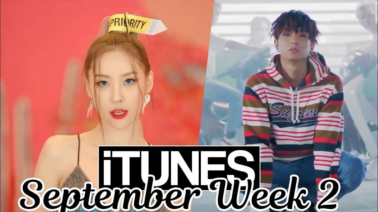 Top 30 Us Itunes Kpop Chart 2018 September Week 2