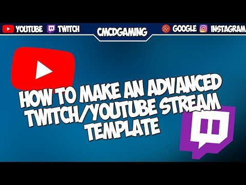 How To Make A Youtube/Twitch Stream Overlay - Photoshop
