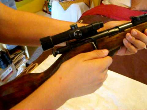 Russian To3 18 bolt action .22 rifle - YouTube
