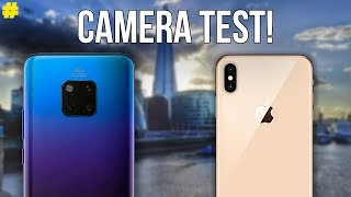 Huawei Mate 20 Pro vs Apple iPhone XS Max Camera Comparison!