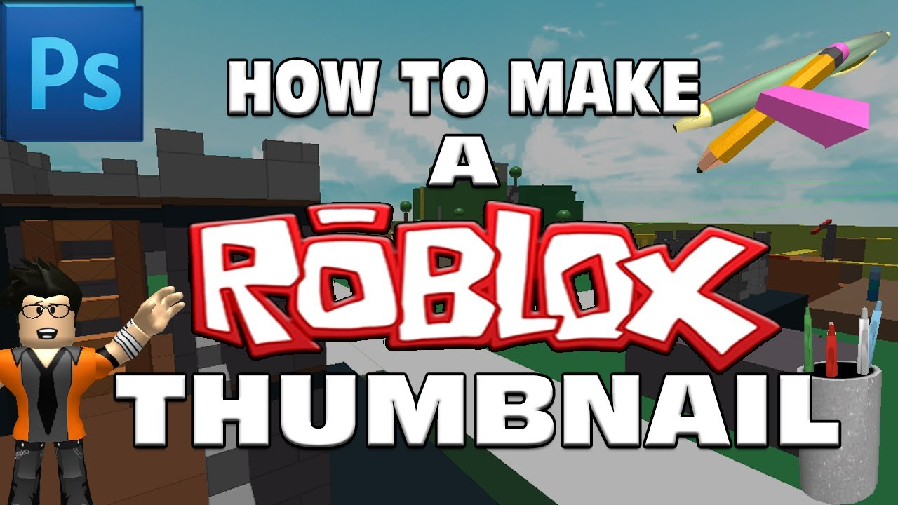 How To Make A Roblox Thumbnail In Photoshop 2014 Roblox Video
