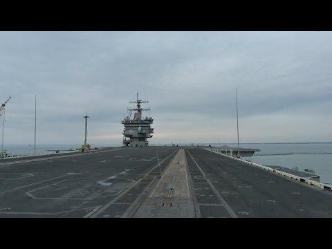 Tour of the USS Enterprise (CVN-65) PT 1