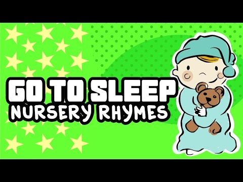 Go to Sleep | It's time to go to bed | Nursery Rhymes |