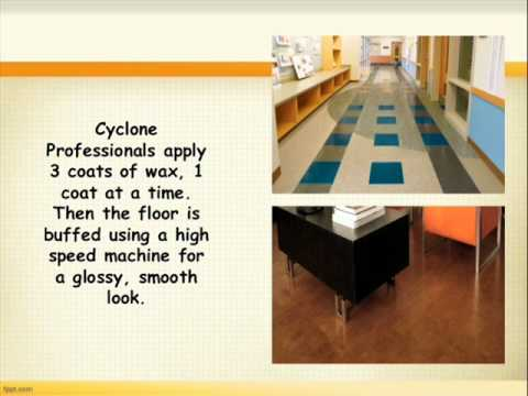 Vinyl or Linoleum Floor Cleaning