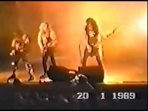 SLAYER - BOBLINGEN GERMANY 1/20/89