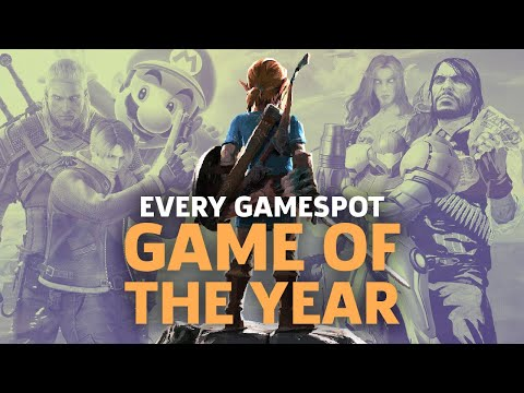 Every GameSpot Game of The Year Until 2017