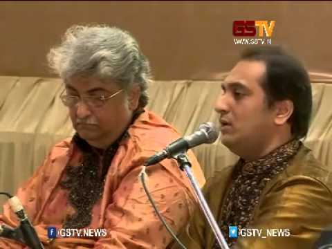 Gujarat Samachar and Samanvay Kavya Sangeet Samaroh 2015 Ashit Desai And Hema Perform Live part 1 M