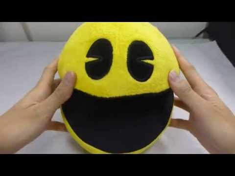 8 INCH PAC-MAN PLUSH DOLL WITH SOUND