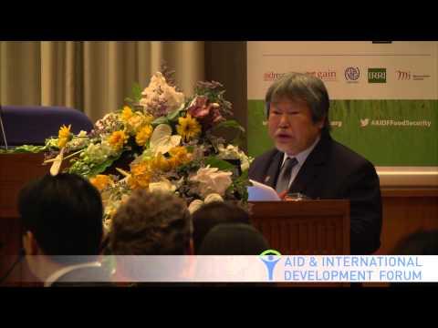 Hiroyuki Konuma, FAO - AIDF Food Security Summit 2013