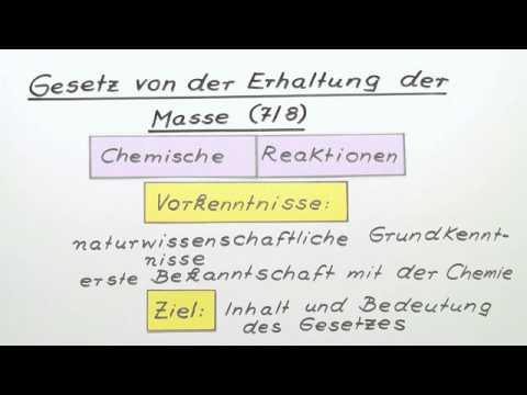 Gesetz Der Erhaltung Der Masse - Cofu.club