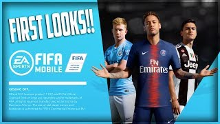 FIFA MOBILE 19 IS HERE!! NEW SEASON FIRST LOOKS!! SCREAM TEAM PULL!!