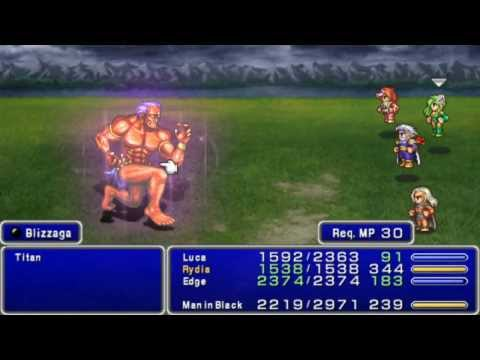 Final Fantasy IV The After Years (Gathering Tale ~ The Moon's Gravity) - Titan