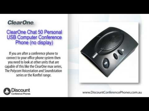 ClearOne Chat 50 Personal USB Video Overview