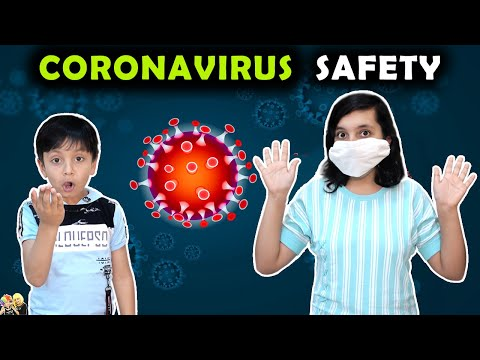CORONAVIRUS SAFETY Good habits General Knowledge | Aayu and Pihu Show