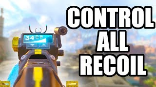 HOW TO CONTROL RECOIL IN APEX LEGENDS! THE BEST GUNS ARE THE HARDEST TO USE!
