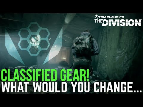 The Division: HAS CLASSIFIED GEAR RUINED BUILD DIVERSITY? What Would You Change!