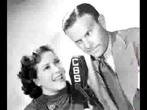 Burns & Allen radio show 10/24/46 Gracie Wants George to Replace Gable