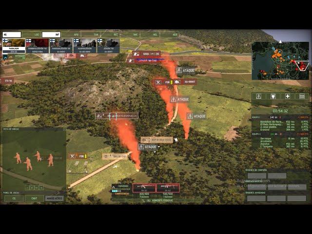 Rusheo en mapa estático | 2vs2 | Wargame Red Dragon | #37