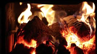 Download 4k Realtime Fireplace Relaxing Fire Burning Video 3
