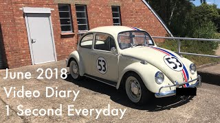 1 Second Everyday Video Diary June 2018 Video