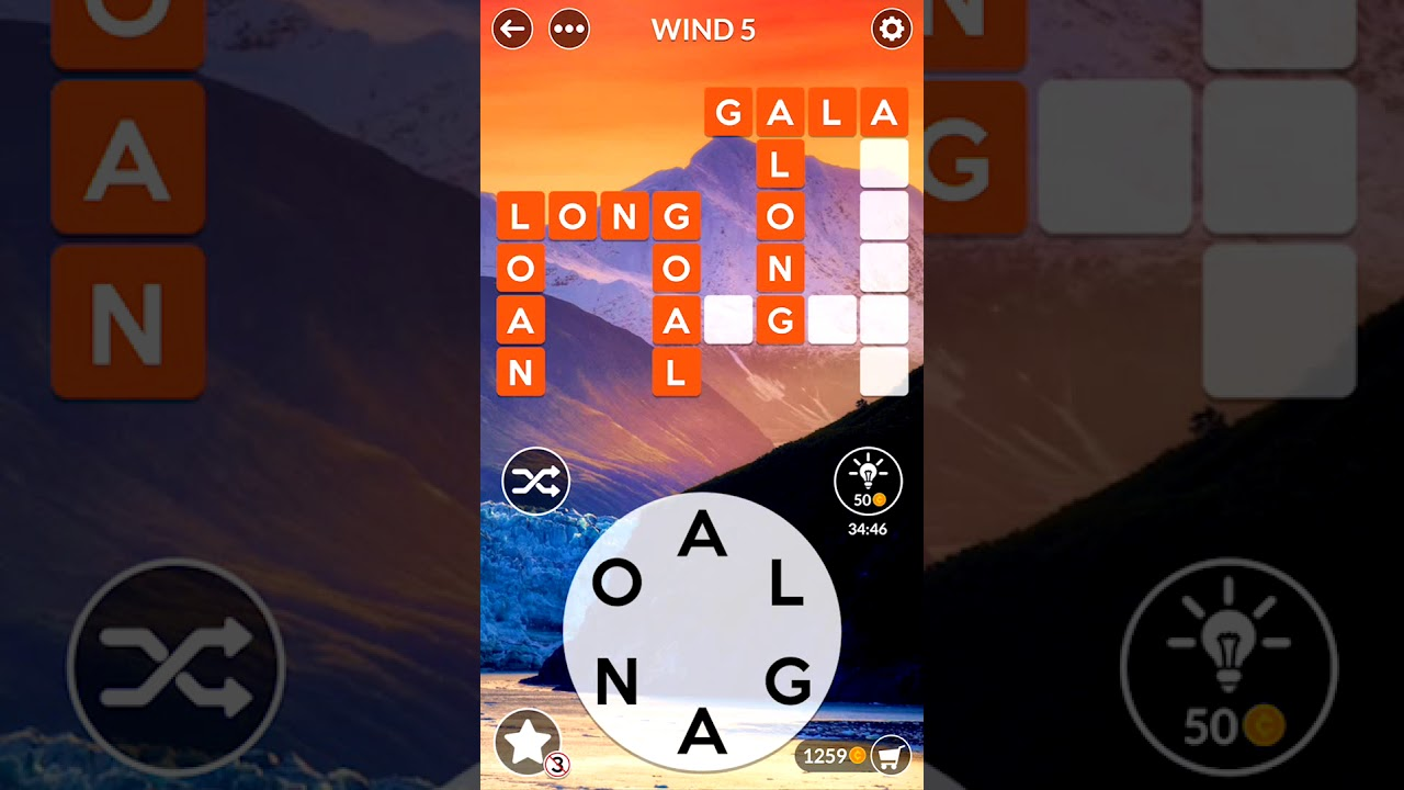 Wordscapes Wind 5 Wordscapes Answers Youtube