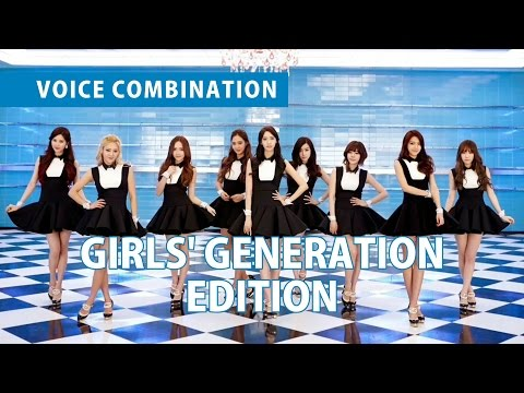 VOICE COMBINATION | GIRLS' GENERATION
