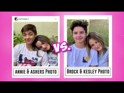 RECREATING ANNIE LEBLANC AND ASHER ANGEL'S INSTAGRAM PHOTOS