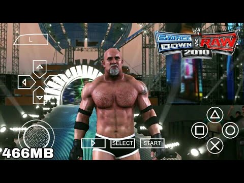 WWE SmackDown VS Raw 2010 PSP Download 466MB