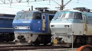 JR貨物 七夕午後の吹田機関区の様子(R1.7.7)