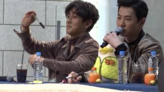 20170122 신화 SHINHWA 잠실 팬사인회 싸인펜 던지기