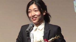 女優の安藤サクラさんが映画「かぞくのくに」で「第22回日本映画批評家...