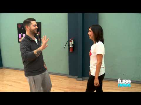 "Jack Osbourne's ""Dancing With the Stars"" Rehearsal (Behind the Scenes)"