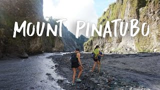 THE CRAZIEST VOLCANO IN THE PHILIPPINES!!  (MOUNT PINATUBO)