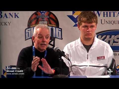 Boyd County HS Basketball Presser vs Fern Creek in 2018 Sweet 16