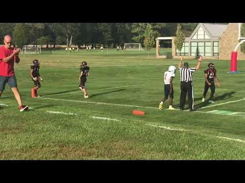 ADRIAN Watts High school football sophomore year class of 2020
