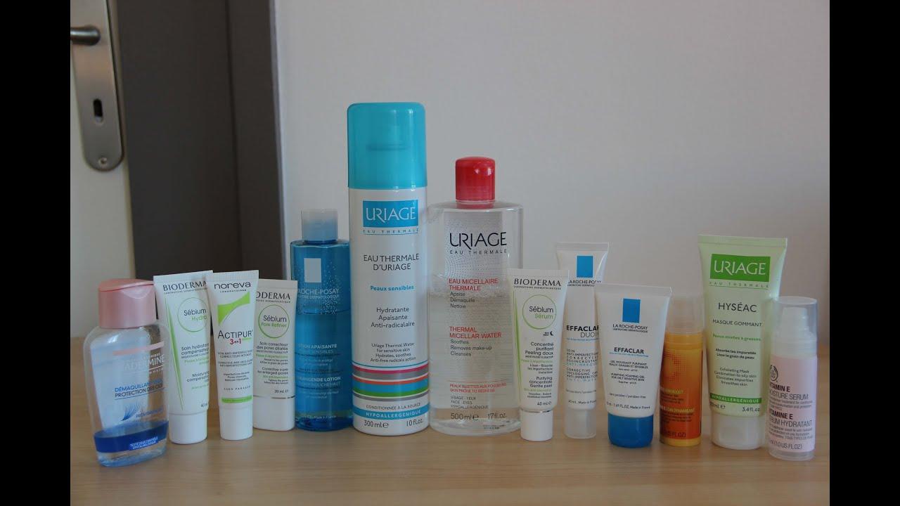 [INFO] Các sản phẩm mình đang sử dụng dành cho da nhờn, da hỗn hợp.