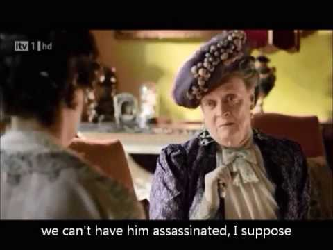 Violet and Cora. Downton Abbey
