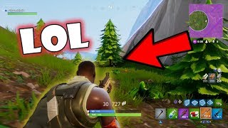 He Thinks I Can't See Him!? | Fortnite Battle Royale