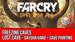 Far Cry Primal - Freezing Caves Guide - Daysha Hand + Cave Painting (Collectibles)