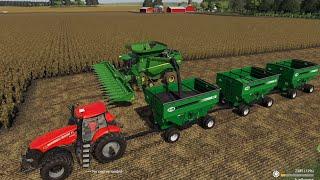 MidWest Horizons Ep#5 |Selling Bales, Harvest,| FS19 Timelapse |Farming Simulator 19 Timelapse