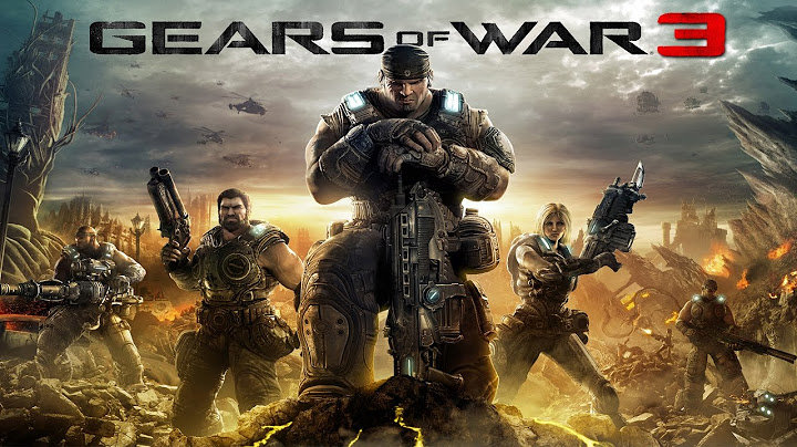 gears of war 3  game movie