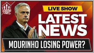 Mourinho's Power Struggle! Man Utd News Now