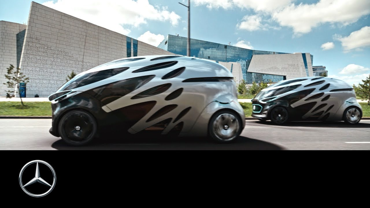 Mercedes Benz Vision Urbanetic Mobility Of The Future Youtube