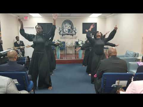 Tye Tribbett african melody praise dance