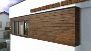 DEKORDESKA - imitacja drewna na elewacje