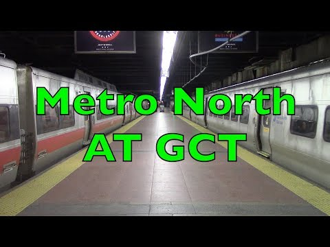 Metro North M7s and M8s - Grand Central Terminal