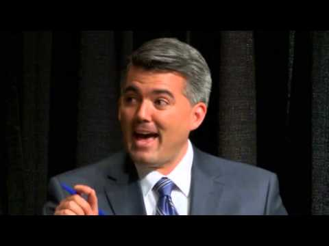 Cory Gardner, The Denver Post Debate, 10-07-2014