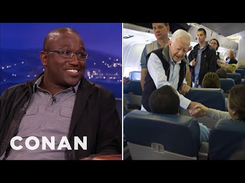 Jimmy Carter Grossed Out Hannibal Buress