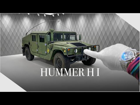 We are READY FOR WAR ! Hummer H1 2001 Army Edition - Detailed Walkaround | Luxury Cars Hamburg