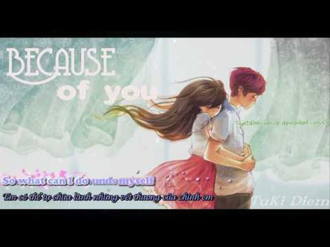 Because of you - by2 [ lyrics + vietsud ] ( My little princess ost )